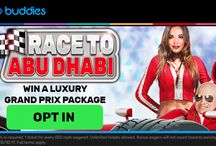 Abu Dhabi Grand Prix Casino Promotion