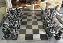 Chessset chessboard