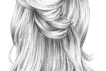 Hair draw's :)))