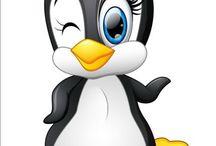 пингвин рисунок
