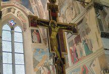 Cimabue Crucifix Florence & Arezzo