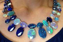 Semi precious necklaces