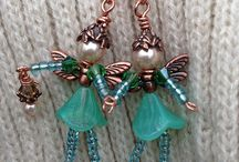 Jewelry - People / Collection of ideas to create jewelry people for pendants out of beads.