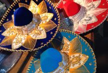 """Typical Hats From Mexico """"Sombrero Mexicano"""""""