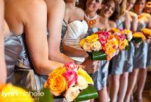 vibrant color scheme wedding