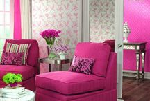 All About Fuschia & Magenta / by Dina T.