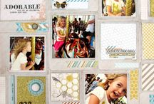 Multiple photo pages / Scrapbooking