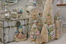 Christmas-Bottle Brush Trees
