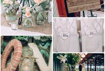 Winery Wedding by Well Planned Weddings and Events / Mint green and peach wedding styling