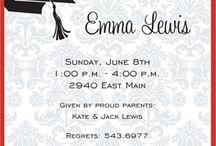 Graduation Party Ideas / by Jessica Smith
