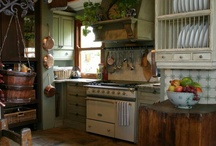 Cook Cabin Kitchen / Ideas for cabin kitchen / by Lisa Cook