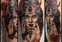 Tattoos / Body art / by Caroline Hoekstra