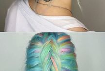 Colour hairstyles