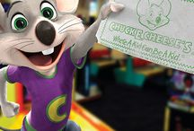 Chuck E. Deals! / Everybody loves a deal! Check here for a chance to snag some great deals! Also, be sure to sign up for our Chuck E-Club to snag more great coupons and offers.  / by Chuck E. Cheese