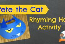 Pete the Cat / by Monica Bybee
