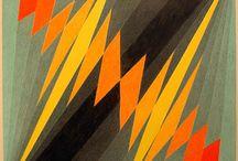 geometric painting