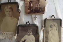 Objets de mémoire • / Altered Art & Vintage Memories.