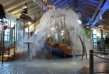 Great Wolf Lodge New England / Great Wolf Lodge New England in Fitchburg, MA has an indoor waterpark, arcade, mini-golf, ropes course, magi-quest, food, restaurants and perfect for the family.