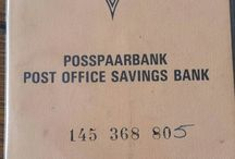 Old postoffice savings books