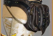 Leather Belts and Pouches / Handmade, one of a kind belts and pouches. Rock them on the playa or at a festival, but their functionality makes them suitable for wear at anytime!
