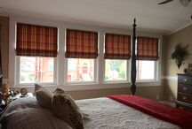 Roman Shades / ADD A ELEGANT LOOK TO YOUR HOUSE BY CUSTOMIZING WITH  A ROMAN SHADE. ROMAN SHADES CAN TAKE ANY ROOM AND HELP ACCESSORIZE IT.