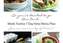 meal plans/ keto recipes