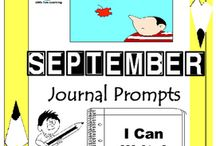 September Writing Prompts Quick Writes / September Writing Prompts Quick Writes. Creative writing prompts for everyday in the month of September. Though your students/child may not have highly developed writing skills to express their thoughts, they do have bright imaginations filled with all sorts of creative ideas.
