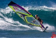 windsurfing..kiteboarding