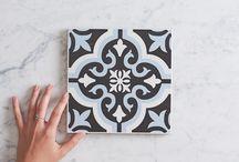 TileClouds Blue Tiles