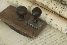 ~ Vintage musicpaper ~ / Love making vintage creations with musicpaper.