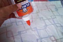 Tecinica batik/glue