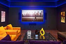 home cinema room decor