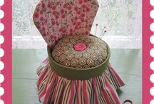 Pincushions and Needle Books / Making pincushions / by Myra Dunn