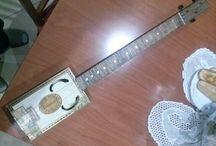 mis cigar guitar box