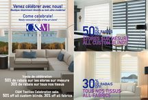Ads and Sales / These are some of our creative ads and sales to help you decorate your home at a reasonable price.  Come and visit us, Montreal, Brossard or Ottawa.