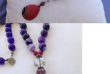 Handmade necklace / Handmade beautiful necklace for women from semiprecious stones