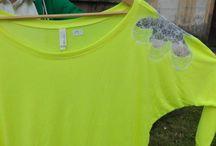 Oblečení se širokým výstřihem / Oblečení pro ženy se širokým výstřihem. Mikiny či trička z lehkých materiálů. Velice slušivé. Na těle vše vypadá velice sexy.