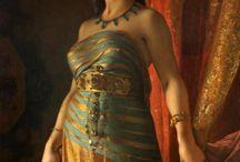 ref of nefertiti/cleopatra
