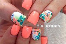 summer nails:-)