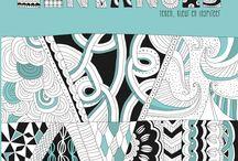 Inspirerend Leven loves ZenTangle / Upload jouw mooiste ZenTangle & maak kans op het basisboek ZenTangle, teken, kleur en inspireer uitgegeven door Tirion Creatief!