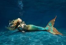 Mermaids, merrows & water sprites / Supernatural water spirits, from sea to stream.