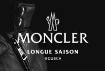 Longue Saison Cuir / The Cult of Moncler in leather. #moncler #longuesaison