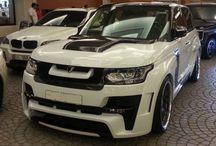 Range Rover Vogue L405 Body kits / A range of body kits for Range Rover Vogue L405