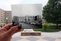 A historic look around campus / Some popular buildings on the Blacksburg campus, then and now.