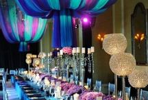 Cool Color weddings