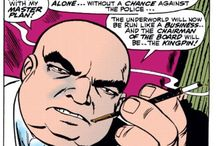 "Kingpin / First appearing in Amazing Spider-Man #50, Wilson Fisk, aka the ""Kingpin"" of Marvel's underworld is one of the most iconic villains in comic book history"