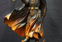 Diorama/Statues