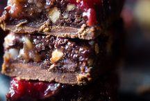 Paleo choco aardbei brownie