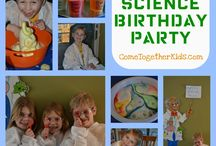 Science/Time machine/Fixiki birthday / For V's 9th birthday party.
