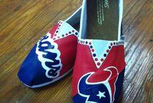Painted Toms/Canvas Shoes